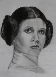 Princess Leia by purpletad