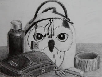 Owl Backpack by purpletad