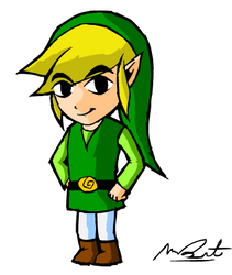Link (from scratch) by DrQArt