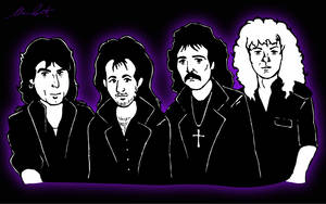 Black Sabbath 'Headless Cross' Lineup by DrQArt