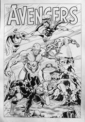 Avengers Assemble by MMaikowsky