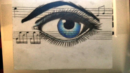 An Eye For Music by DeadpanDeath