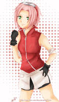 Naruto- Pink Sakura by navi-the-cute-fairy