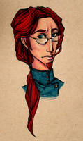 Young Albus by damsel-in-distrust