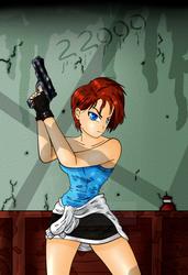 Jill Valentine - 22K pageviews by AshiroKei