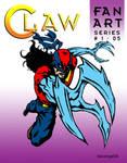 CLAW FAN ART 5 by Mykemanila