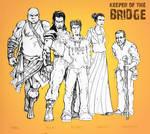 KEEPER OF THE BRIDGE by Mykemanila