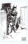 Batman - Quick Sketch by Mykemanila