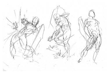 Silver Defender Studies by Mykemanila
