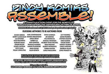 PINOY KOMIKS ASSEMBLE! by Mykemanila
