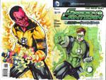 FSA - Green Lantern vs Sinestro by Mykemanila