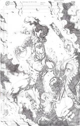 Marc Silvestri's Ripclaw vs killjoy by Mykemanila