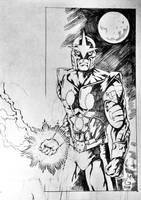 Marvels NOVA The Human Rocket by Mykemanila