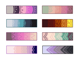 F2U Color Palettes by Conspivacy
