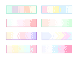 F2U Pastel Color Palettes by Conspivacy
