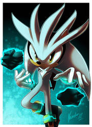 Silver the hedgehog by nancher