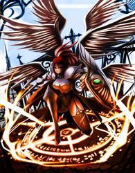 Fantasy Earth Zero +Warrior B+ by nancher