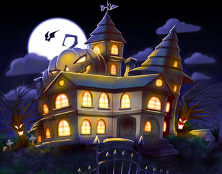The Mansion by nancher