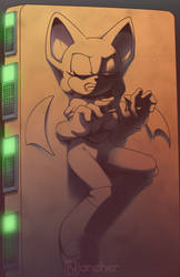 Rouge in carbonite by nancher