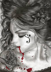 Blood,Butterflies:A Tribute. by VICTORIA-FRANCES