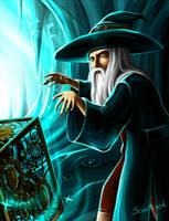 Trine - Amadeus the Wizard by Scooterek