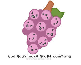 Grape Company by monicasaur