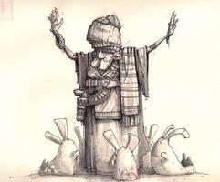 the bunny king by Murph3