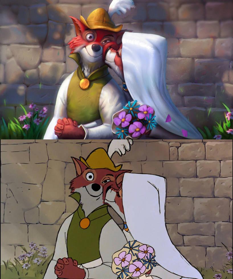 Robin Hood and Maid Marian by Murph3