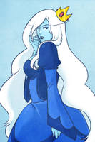 Ice Queen - Adventure Time by phobialia