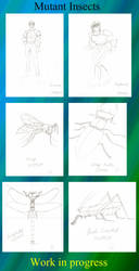 Mutant Insects WIP by Lisa22882