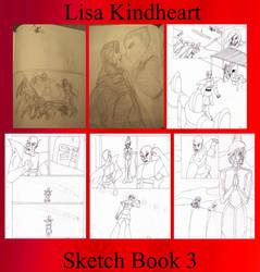 LK Sketch Book 3 by Lisa22882