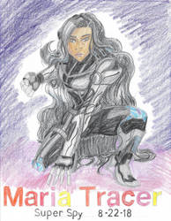 Maria Tracer Super Spy by Lisa22882
