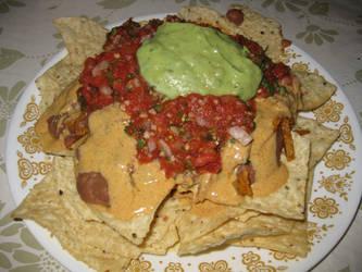 Vegan Nachos by TheUnsilenced