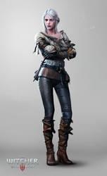 The Witcher 3: Wild Hunt - Ciri by Marmad