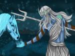 God of Water- Poseidon by RaginChaos