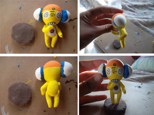 2nd Kururu Clay Figure by Dream-Paint