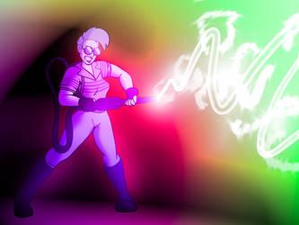 Fan Art - Ghostbusters (Holtzmann) by rampant404