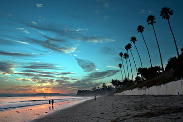 Butterfly Beach, Santa Barbara by dchui