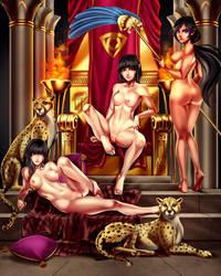 Egypth NSFW by titi-artwork