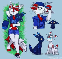 pokemon trainer echo by TheWardenX3