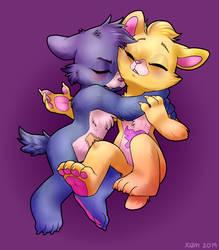 sleepy bears by TheWardenX3