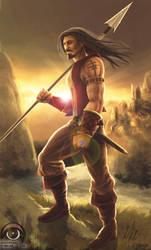 Spearman.......of DOOM by thepenciler