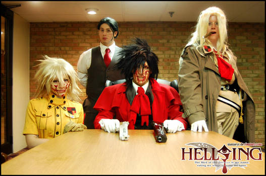 Hellsing: Welcome to Hellsing by Maxieyi