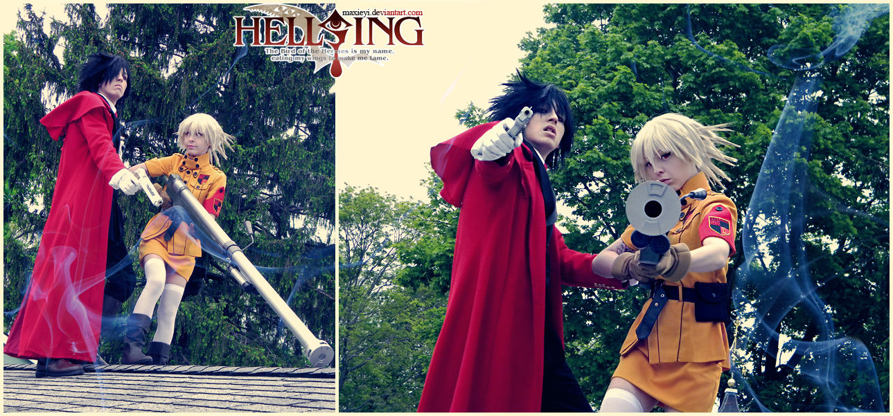 Hellsing: Up In Smoke by Maxieyi