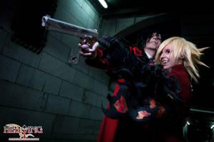 Hellsing Cosplay: Alucard and Seras Victoria: Bang by Maxieyi