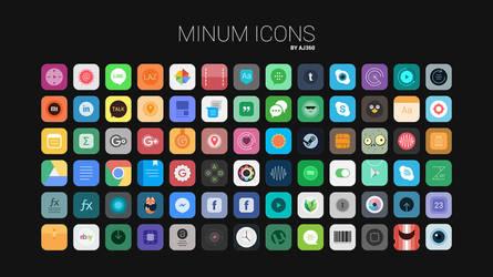 Minum Icons by aj360p