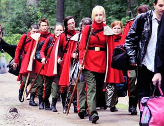 ~ The Delegation of Durmstrang ~ by OriyaPrince