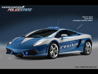 Lamborghini Gallardo Police by Soulfame