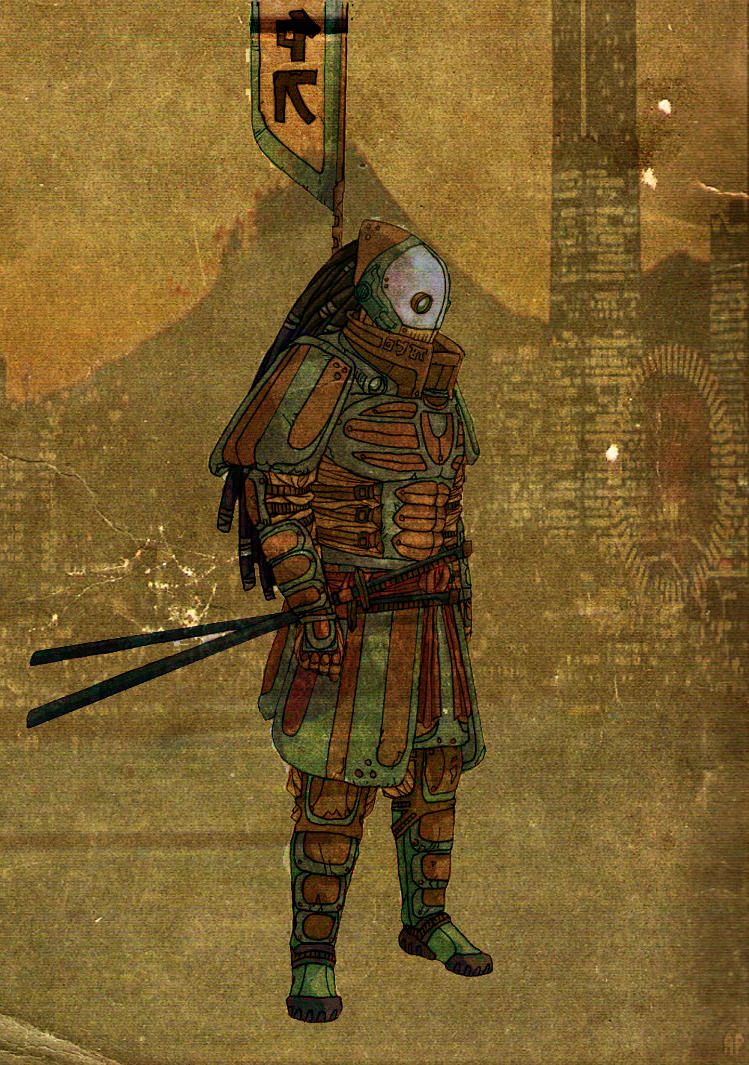 Samurai by JLFlores