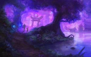 Purple-tinted memories by Eepox